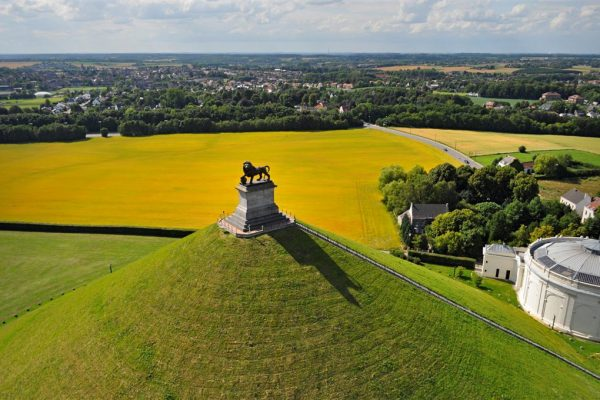 Lions Mound - Battle of Waterloo Tour