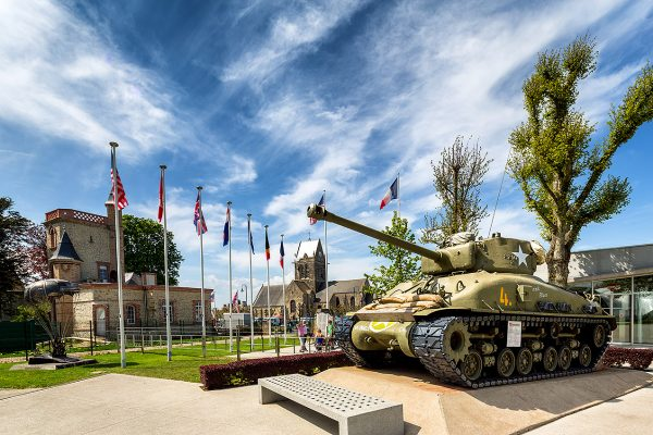 The Airborne Museum (Musée Airborne) is a museum in Sainte-Mère-Église - Normandy D-Day Landing Tour