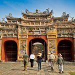 Vietnam War Tour - Hien Lam Pavilion Gate Hue