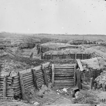 Confederate defenses of Fort Mahone aka Battery 29 at Petersburg, Virginia, 1865 - USA Battlefield Tours