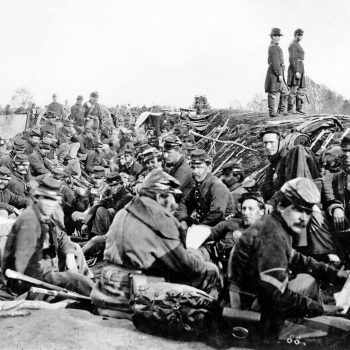 Union soldiers entrenched along the west bank of the Rappahannock River at Fredericksburg, Virginia - USA Battlefield Tours