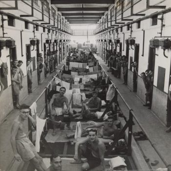 Allied prisoners of war after the liberation of Changi Prison Singapore 1945 - Asia Pacific Battlefield Tours