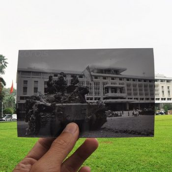 Reunification Palace (the former Presidential Palace) in downtown Ho Chi Minh City - Asia Pacific Battlefield Tours