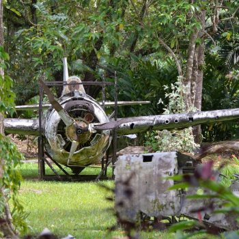 US Fighter Aircraft – Vilu Open Air War Museum, Honiara - Asia Pacific Battlefield Tours
