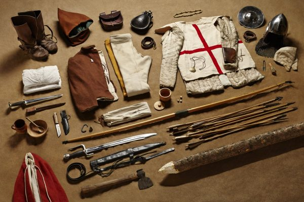 Longbowman gear, Battle of Agincourt Crecy and Agincourt Tour