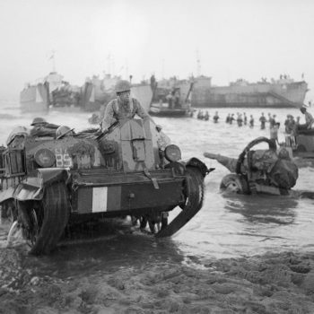Bren Gun Carrier coming ashore - Italy Battlefield Tours
