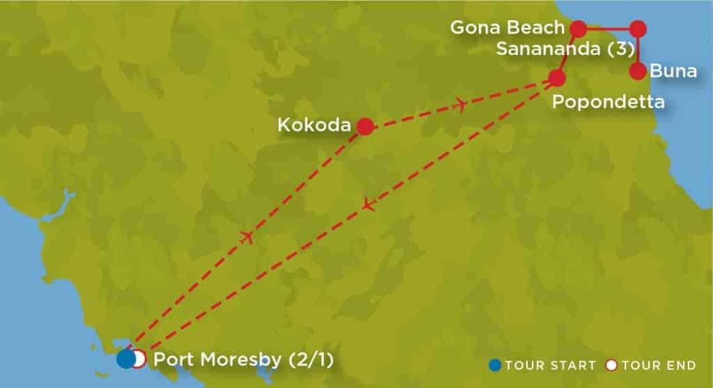 New Guinea Campaign 75th Anniversary Tour