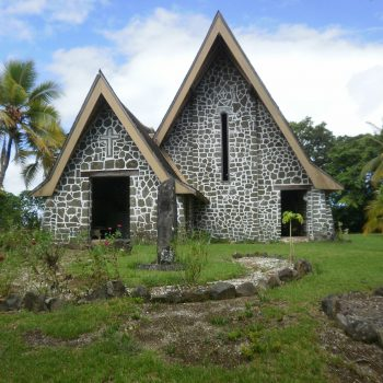 Kwato Church on Kwato Island - Milne Bay 75th Anniversary Tour