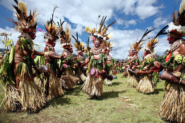 Kokoda 75th Anniversary Tour - Traditional Sing-Sing