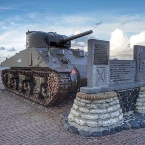 Walcheren Memorial - Battlefields of Belgium