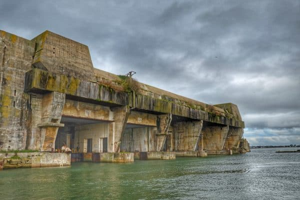U Boat Pens Lorient - Commando Operations of WWII