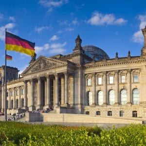 The Reichstag - Downfall in Berlin by Air