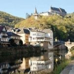 Grand Hotel De Vianden - Following General Patton - Battlefield Luxembourg