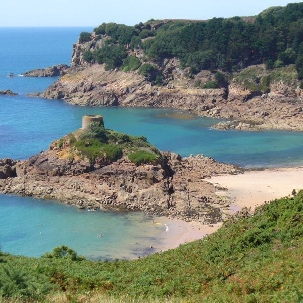 Portelet Tower in Saint Brelade, Jersey - Jersey - Occupation and Liberation