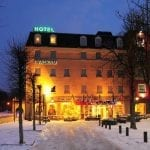 Walram Hotel Exterior Winter - Race to Remagen