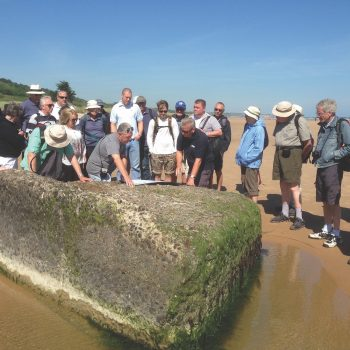 Omaha Beach - Walking the D-Day Beaches