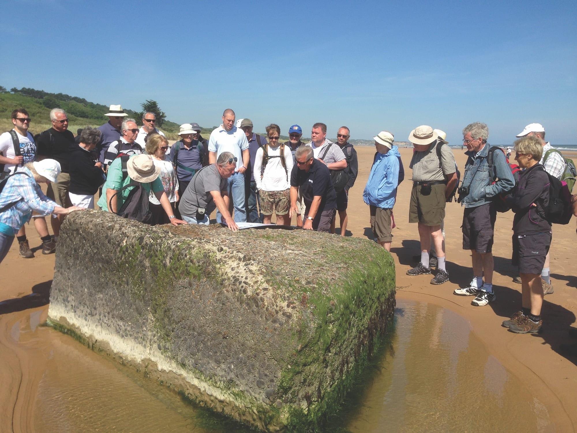Omaha Beach - Walking the D-Day Beaches