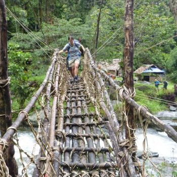 Bridge Crossing - Trek Kokoda Tour