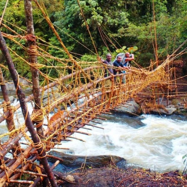 Eora Creek Cane Bridge - Trek Kokoda Tour