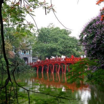 Huc Bridge Hanoi - Vietnam Revealed