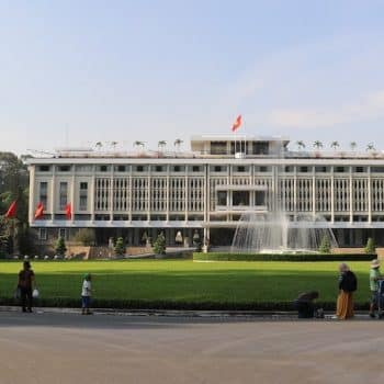 Reunification Palace was the base of Vietnamese General Ngo Dinh Diem until his death in 1963 - Vietnam Revealed