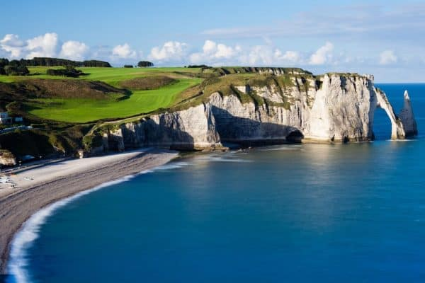 Normandy Coastline - Normandy D-Day Tour